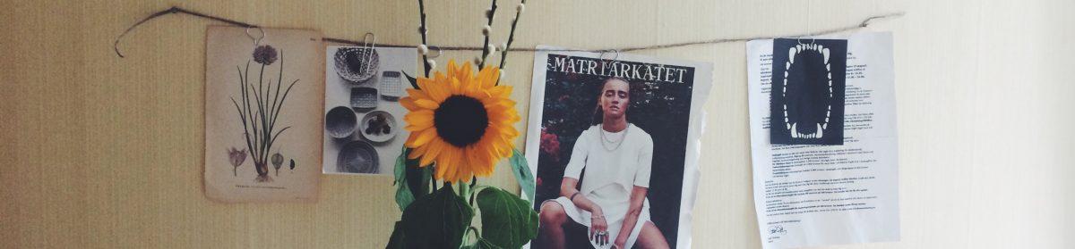 Madeleine – tankar, bröllop, cipralex och kaffe